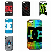 Screen Protector Red DC Shoes Logo For Samsung Galaxy S2 S3 S4 S5 S6 S7 edge mini Active Ace Ace2 Ace3 Ace4
