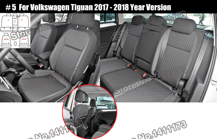 167 car seat covers set (4)