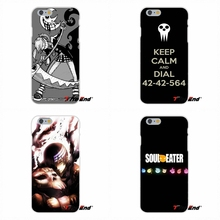 Popular Soul Eater Anime Head Art For Xiaomi Redmi 4 3 3S Pro Mi3 Mi4 Mi4C Mi5S Mi Max Note 2 3 4 Soft Case Silicone Cover
