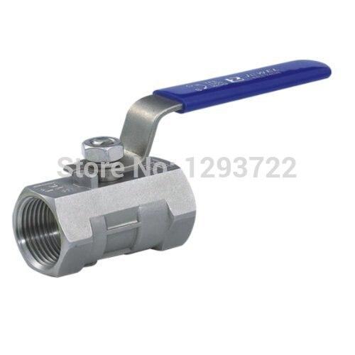 2 DN50 Stainless Steel 1- Piece Ball Valve, SS304 ,Economical Water Valve ,stainless steel ball valve,ball valve DN20<br>