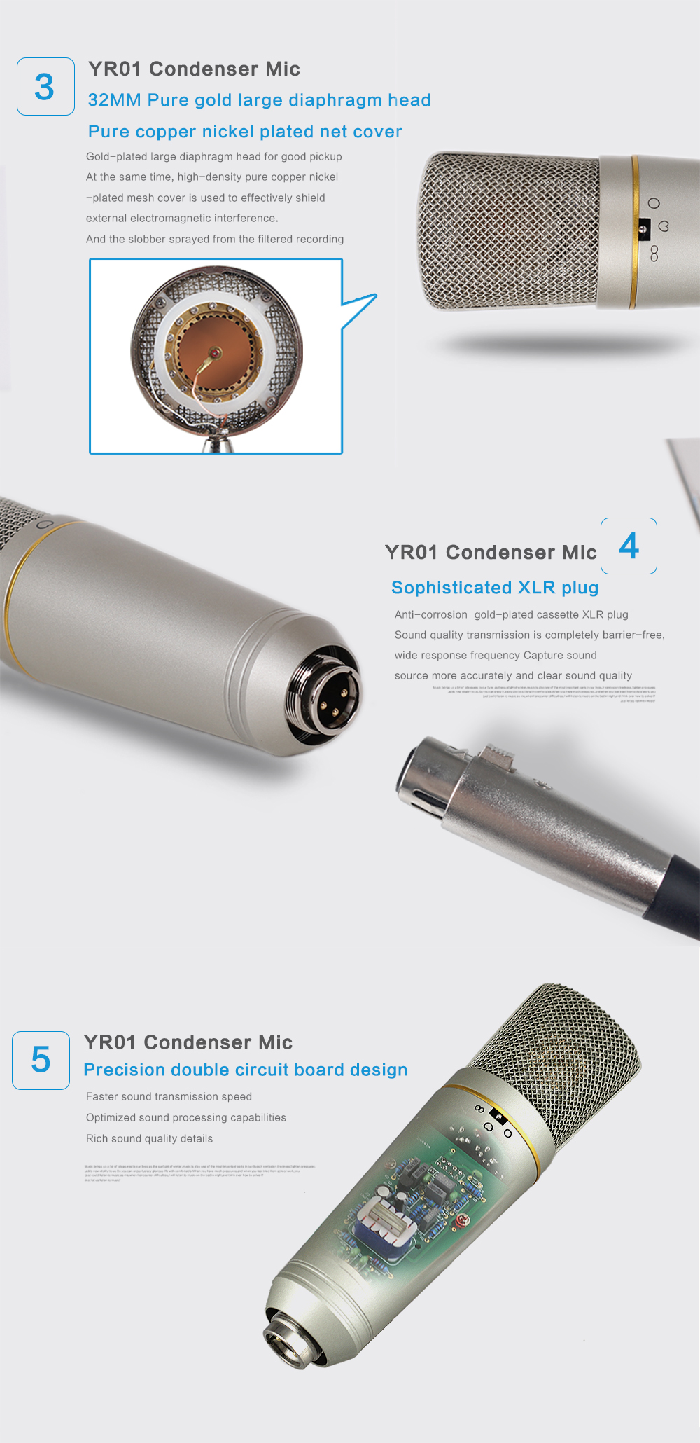 Professional Studio Microphone 10