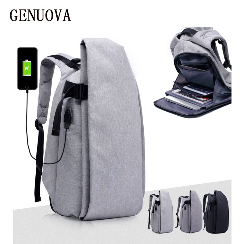 Fashion New Teenager Backpack Multifunction USB Charging Men Travel Anti Theft Backpack Mochila Leisure 15inch Laptop Backpacks<br>