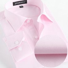 Buy Spring Dress Shirts Mens Formal Non Iron Wedding Shirt Solid Long Sleeve Business Fashion Mens Shirts Social Brand Clothing X021 for $10.99 in AliExpress store