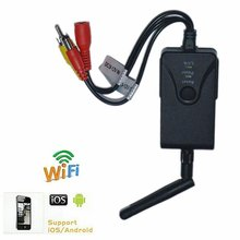 2018 Latest 2.4Ghz 30fps Wireless WIFI Camera Transmitter Video Receiver for Car Reverse Bakup Rear View Reversing CC Camera