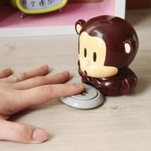 Brand New Cute Monkey Shaped Hand Nail Art Tips Design Gel Polish Dryer Manicure Care One Nail A Time