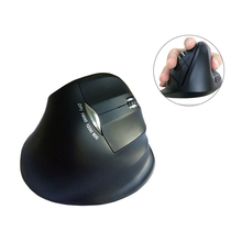 Wireless Vertical Mouse Right Hand Ergonomic Upright Wireless Mouse 1600 DPI Optical Mice For PC Laptop(China)