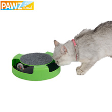 Free Shipping Pet Cat Toy Mouse Crazy Training Funny Toy For Cat Playing Toy with Mice Cute Cat Mouse Toy Catch the Motion Mouse(China)
