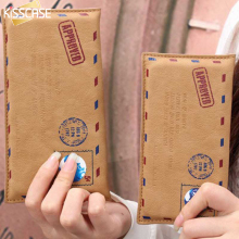 KISSCASE Nostalgic Envelope Messenger Mail Case For iPhone 6 6s 6 Plus 7 7 Plus 5 5S SE 5C 4S 4 For Galaxy S5 S6 S7 Edge Sleeve