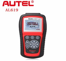 Original AUTEL Product Autel AutoLink AL619 OBDII&CAN Diagnostic Scan Tool ABS & SRS TFT Color Screen(China)