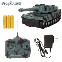Abbyfrank RC Tank Battle Toy Tank 1:22 Radio Remote Control RC Fighting Tank Model Classic Toys For Kids 360 Rotation Music LED