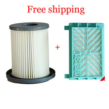 2pcs/lot Vacuum Cleaner HEPA Filters+12cm Filter Element for Philips FC8720 FC8724 FC8732 FC8734 FC8736 FC8738 FC8740 FC8748(China)