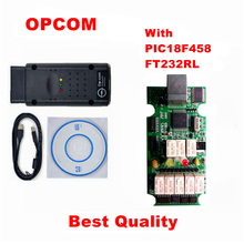 Strong And Durable OP COM V1.70 OP-COM OBD2 Diagnostic Tool For SAAB OPCOM OPEL Interface With Newest Software 120309A(China)