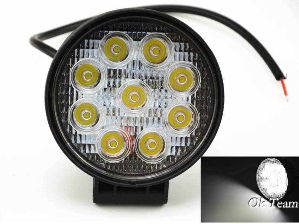 1PCS 4 27W LED Work Light Bar Lamp for Motorcycle Tractor Boat Off Road 4WD 4x4 Motor Bike Truck SUV ATV Spot Flood 12v 24v<br><br>Aliexpress