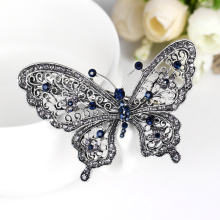 Fashion butterfly hair clip for women luxuruous girls hair accessories trendy animal hairs accessoires jewelry china hair bow