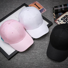2017 new fashion solid color adult curved edge light board solid Snapback man Benn baseball cap woman personality hip hop hats