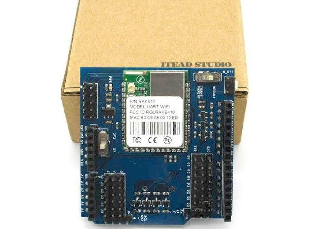 Onboard Wi-Fi Antenna Shield REV2 Cduino Wifi Expansion Board Shield Module UNO R3  328 1280  Wireless Ethernet<br><br>Aliexpress