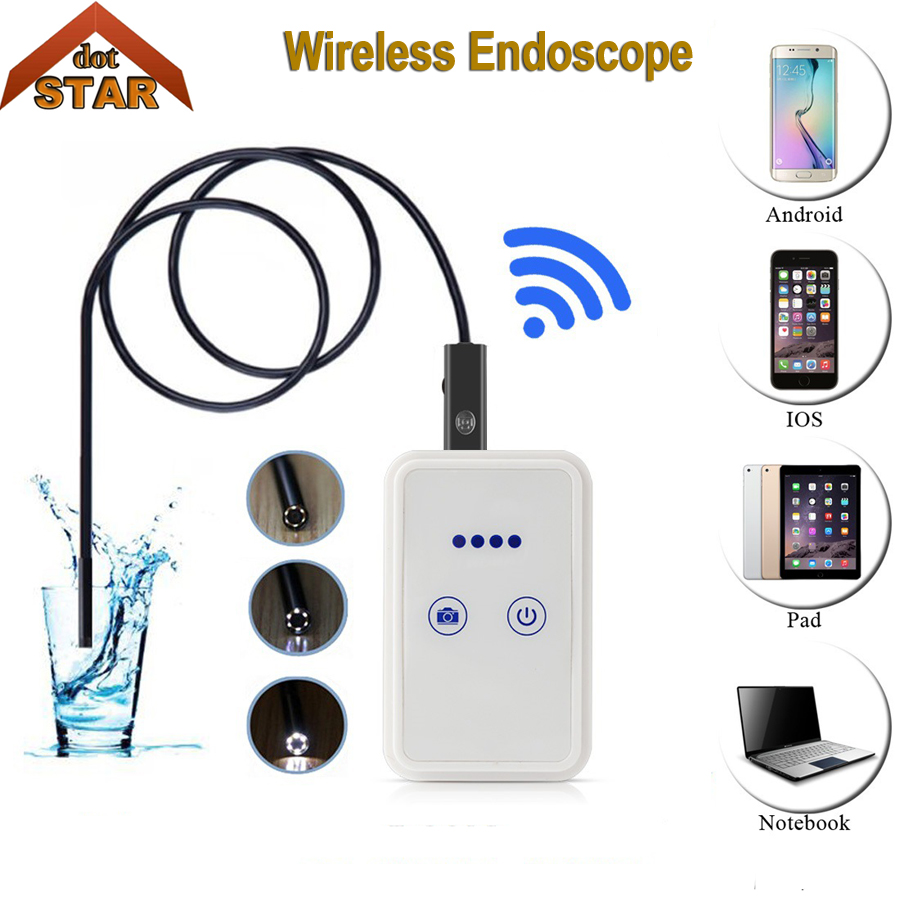 Stardot 2MP Wifi Endoscope Camera Support 30m Wifi Distance Android IOS Tablet Iphone IP67 USB Endoscope Inspection Camera<br>