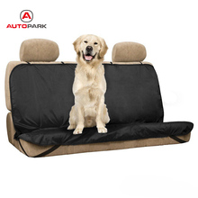 New Pet/Cat/Dog Seat Cover Waterproof Mat Anti-dust Car Back Seat Cover Bench Protector with Belts Car Cleaning Cover(China)