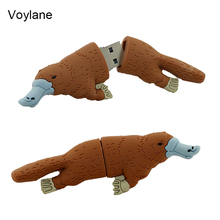 Voylane usb flash drive pendrive funny lovely Perry the platypus shape flash memory 2.0 Pen memory U disk 2G 4G 8G 16G 32G