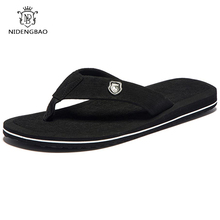 Summer Fashion Men's flip flops Beach Sandals for Men Flat Slippers non-slip Shoes plus size 48 49 50 Sandals pantufa(China)