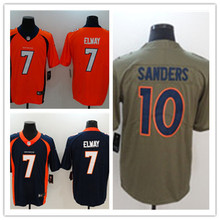 Mens 10 Emmanuel Sanders Jersey 2017 Rush Salute to Service High Quality Football Jerseys(China)