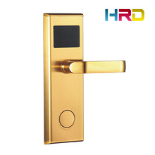 Hotel Key Card Intelligent Lock System Type T57 Card T5577 T5557 frequency 125Khz stainless steel mortise guest access control