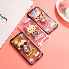For iPhone 6 Case Fancy 3D Cartoon Monkey Silicone Cover Hard PC Case For iPhone 5 5s 6 6S Plus