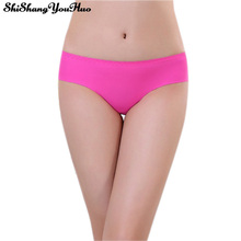 Special Fabric Ultra-thin Comfort Underwear Women Seamless Panties for Women Sexy Pink Briefs Tangas Calcinha ZM8205