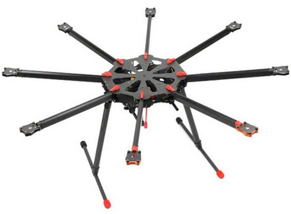 Tarot X8 TL8X000 8 axle Octocopter Umbrella Type Folding Frame Multicopter Electronic Retractable Landing Skid for FPV(China (Mainland))