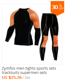 Men Running sets sports suits