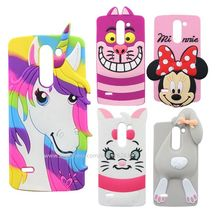 For LG G3 Stylus D690 3D Cartoon Unicorn Marie Cat Bunny Tiger Sulley Batman Soft Cell Phone Case Cover