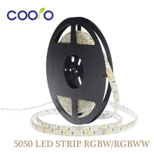5050 LED Strip RGBW DC12V Led Flexible Light RGB+White / Warm White colorful strip lights,5m 300LEDs 60Leds/m,5m/lot