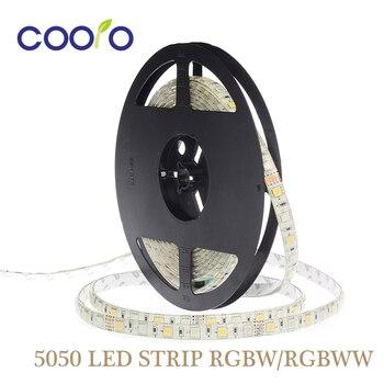 5050 LED Strip RGBW DC12V Led Flexible Light RGB+White / Warm White colorful strip lights,5m 300LEDs 60Leds/m,5m/lot