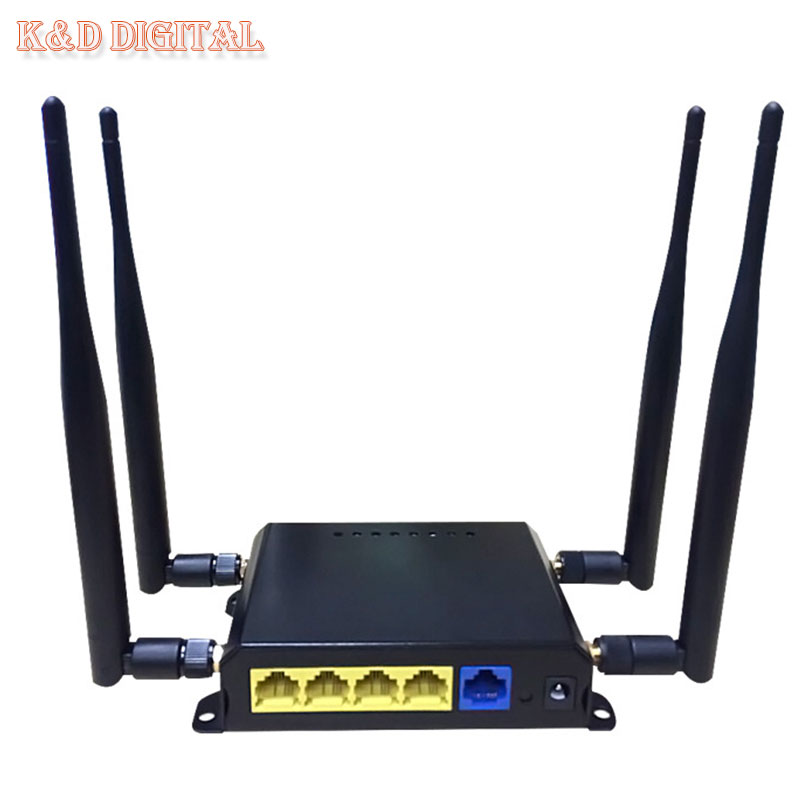 300Mbps OpenWRT 4G Wireless WiFi Router With SIM Slot Support HSPA UMTS TD-LTE FDD-LTE WCDMA GSM GPRS(China)