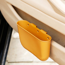 4 color Creative Car Storage Box plastic Auto Car Seat Gap Pocket Catcher Organizer Leak-Proof Storage Box Auto Bag Container