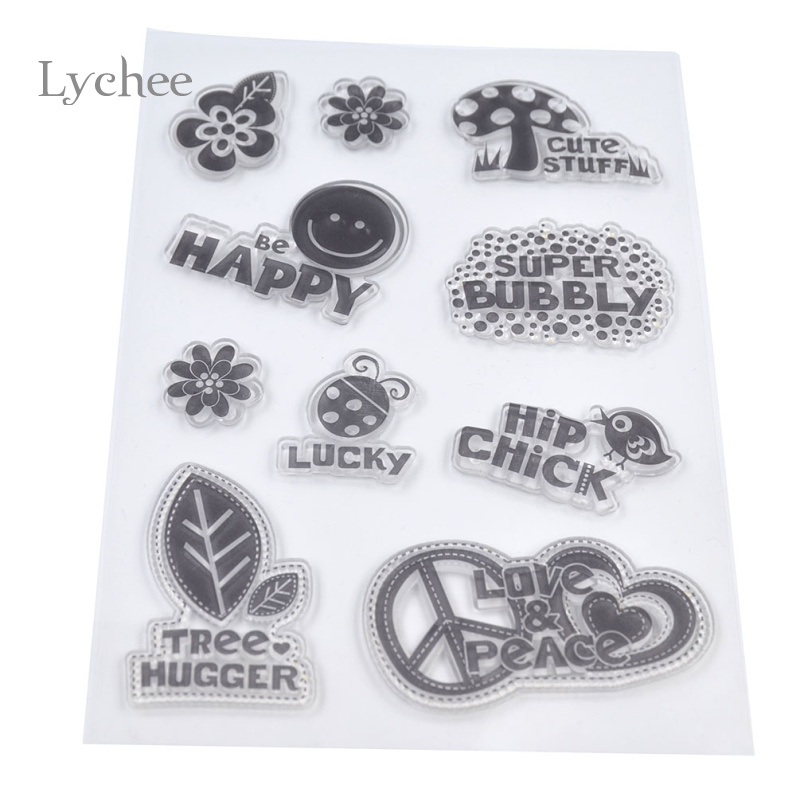 1 Piece Transparent Rubber Standard Stamp for Teachers Kids Decorative Clear Stamps for Scrapbook DIY Scrapbooking<br><br>Aliexpress