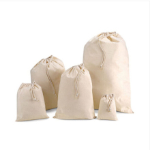New Sack Drawstring Bag Grocery Gift Packaging Pouch for Wedding Decor Sachet Storage Bags 5 Size