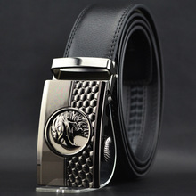 2016 hot mens designer belts Genuine Leather male straps belt for men Vintage Automatic Buckle Eagle Belt Men W162