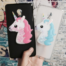 Buy 3D Unicorn Quicksand Liquid Soft Silicone Case Lenovo Vibe P1 C58 C72 P1c72 P1a42 Phone Cover Cartoon Diamond Funda Coque for $3.46 in AliExpress store
