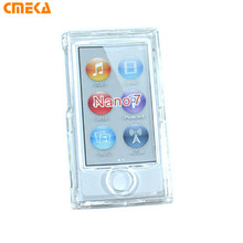 High Quality Clear Transparent Hard Front Back Full Plastic Cover Shell Case For Apple iPod Nano 7 7G 7TH Generation