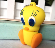 Retail cartoon Tweety bird USB Flash Drive/U Disk/creative Pendrive/Memory Stick/Disk/Thumb pen drive/Gift S70(China)
