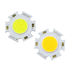 1Pcs 3W 5W 7W 10W COB LED Chip High Power LED COB Bulb Lamp for Outdoor led bulb Flood Light Cold White Warm White
