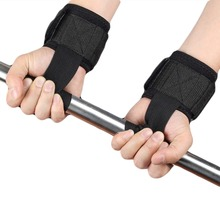 Fitness Weight Lifting Wrist Gloves Straps Gym Weightlifting Exercise Bodybuilding Barbell Dumbbell Wrist Support Wraps
