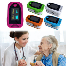 green Colors Finger Tip Pulse Oximeter Blood Oxygen Saturation Monitors Hot Selling(China)