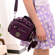 2017 Fashion waterproof shoulder bag  new arrival  women messenger bags min nylon Crossbody Bag for ladies  woman handbags