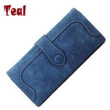 women's purse for coins cartera leather clutch wallet women luxury brand dollar price money clip wallet women's purse for coins