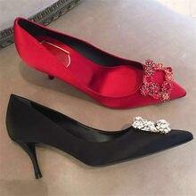 Satin scarpe Flower Promotion Shop ... for Promotional Satin scarpe Flower ... Shop 755bd5