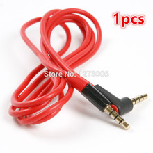Universal 1pcs 3.5mm 115cm Red Headset Extension Line For Phone/iPod Cars Stereo Headset Audio Cable Accessories Car-styling HOT(China)