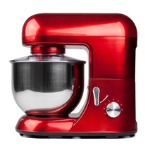 5.2L Electric Food Stand Mixer Bread Dough Kneading Machine Red