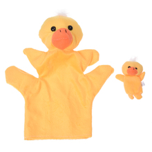 ABWE Best Sale Yellow Duck Hand Puppet Finger Puppet(China)